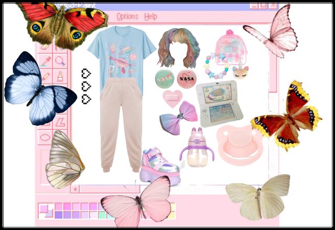 agere w/ butterflies