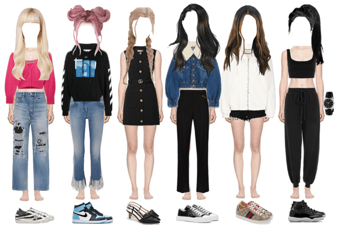 BlackPink 5th member airport fashion collection