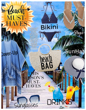 Beach Bag! Beach must haves