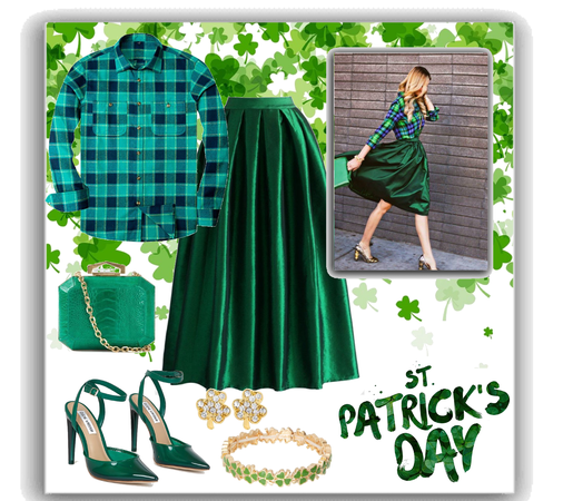 go green for st Patrick's day