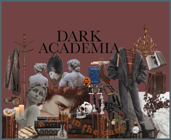 dark academia for Ray