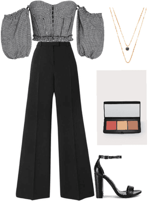 Simple Monochromatic Fall Outifit