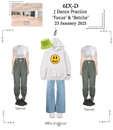 6IX-D [식스디] (J) Dance Practice 210123