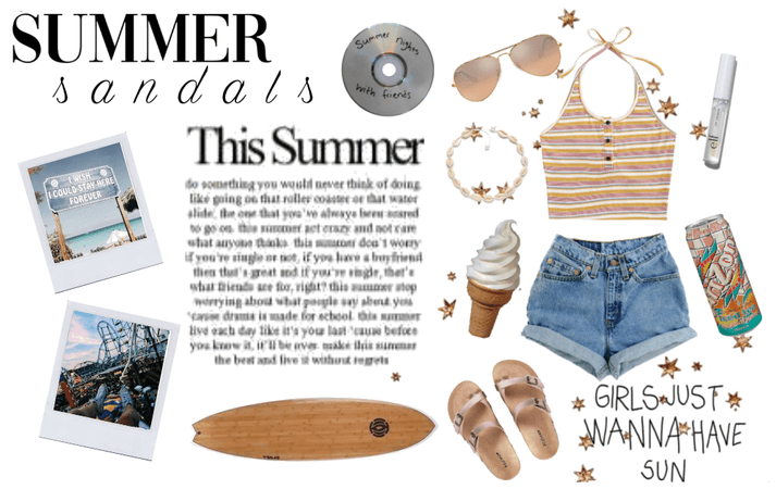 Summer Sandal outfit