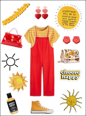 Happy happy sunshine