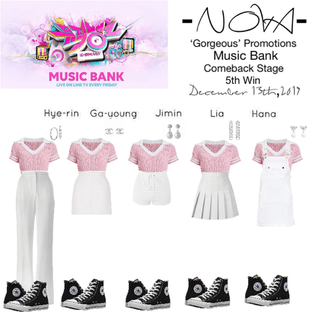 -NOVA- 'Gorgeous' Music Bank Stage