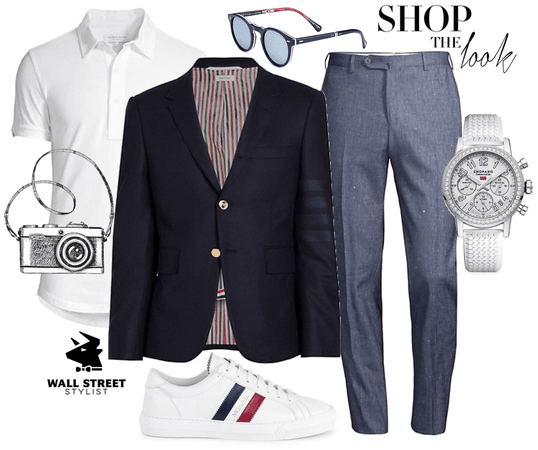 Men's Cool Business Casual