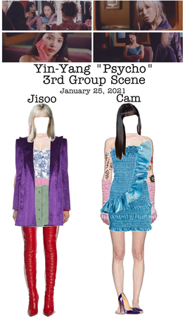 "Yin-Yang ""Psycho"" MV 3rd Group Scene"