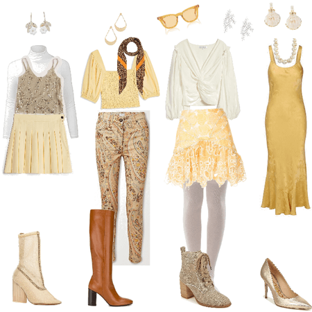 hufflepuff inspired outfits