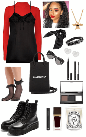 black style outfit