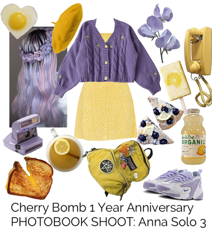Cherry Bomb 1 Year Anniversary PHOTOBOOK SHOOT: Anna Solo 3