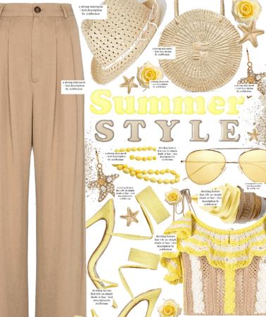 summer style 💛