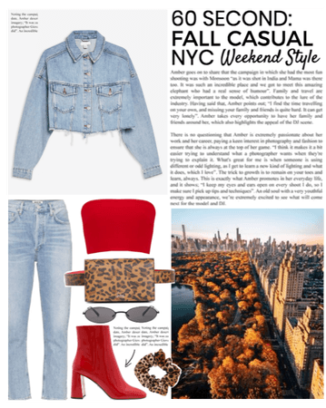 60 Second: Fall Casual Weekend Style