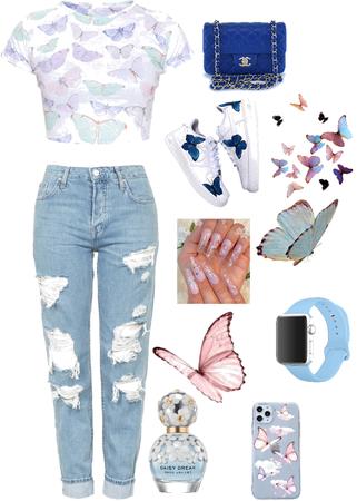 Blue Butterfly's