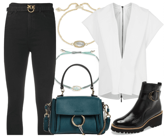touches of teal and gold