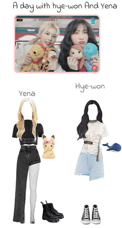 hey-won and yena day out