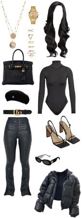♣️ black & gold ✨