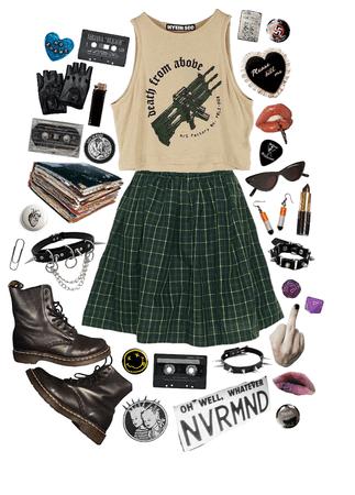 a casual punk