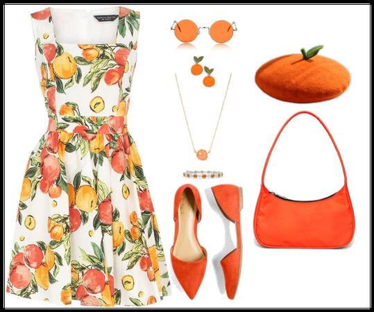 Summer in orange