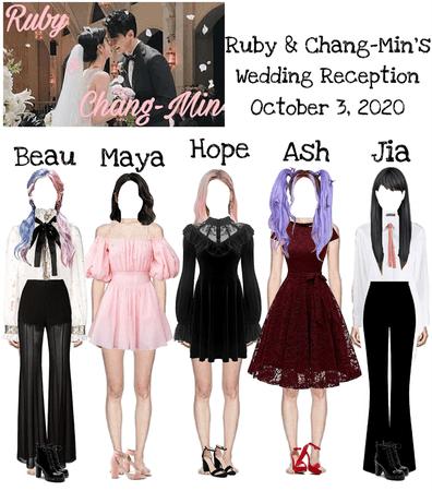 Ruby & Chang-Min Wedding Reception DI-VERSE & Jia