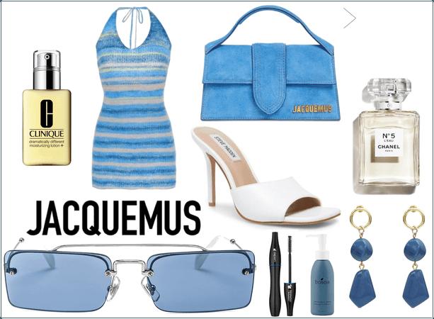 blue jacquemus