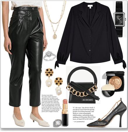 again black style...