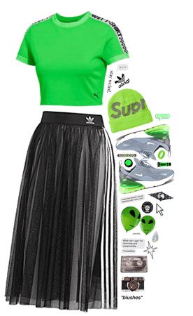 neon green fitness