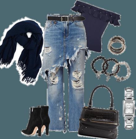 Jeans & Black
