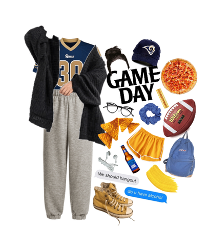 a lazy game day