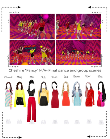 """Cheshire """"Fancy"""" M/V- Final dance and group scenes"""