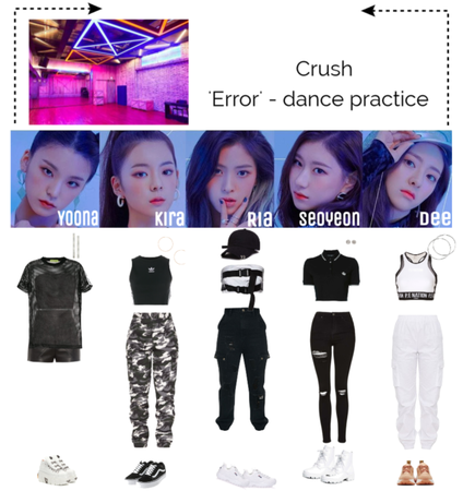 dance practice video for Error