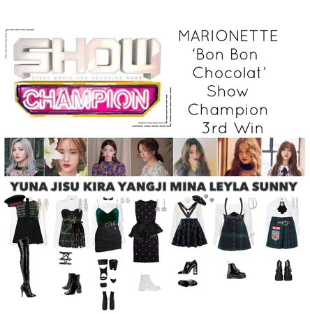 {MARIONETTE} 'Bon Bon Chocolat' Show Champion 3rd Win