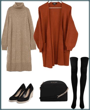 Simple winter fashion