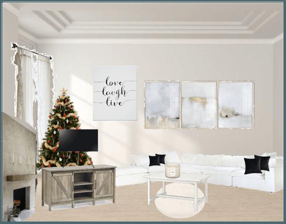 Simply fancy living room