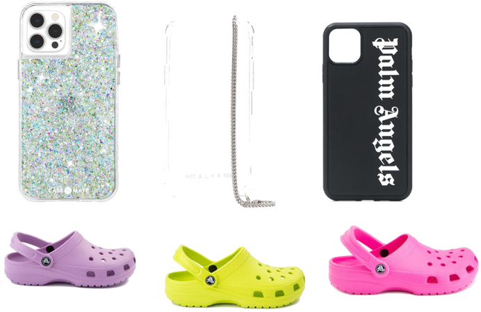 crocs and iPhones