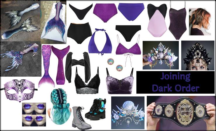 Dark Order Mermaid
