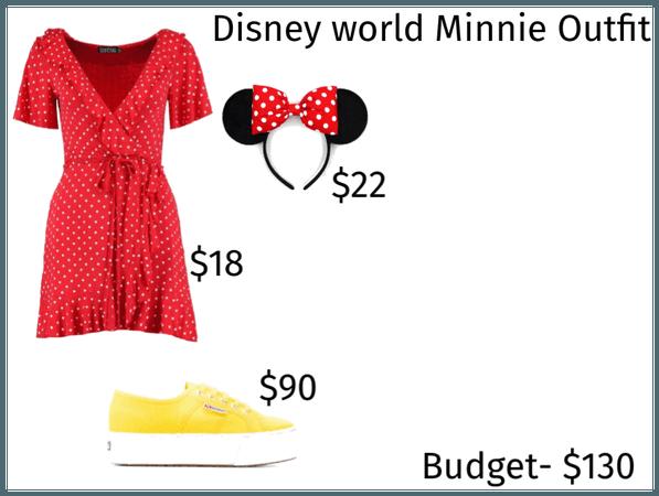 Disney World Minnie Outfit