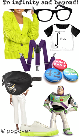 Nerdy Buzz Lightyear Disneybound
