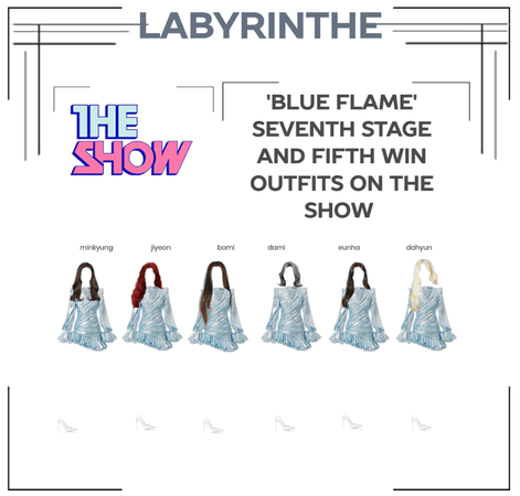 LABYRINTHE BLUE FLAME SEVENTH STAGE