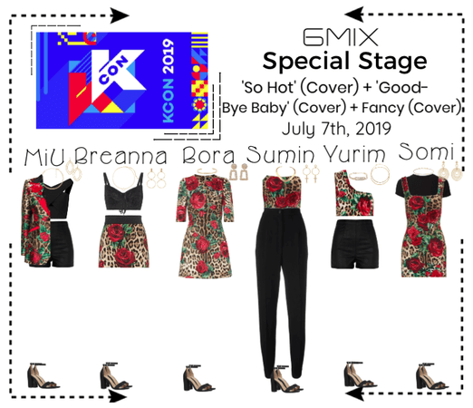 《6mix》KCON New York 2019 | Special Stage