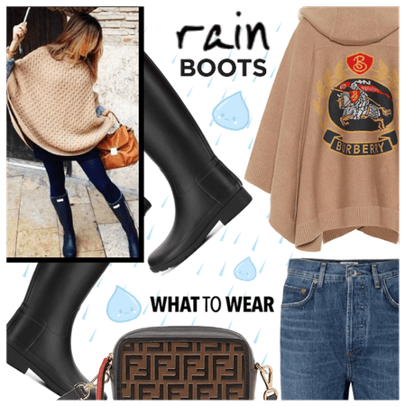 How to Wear Rain Boots
