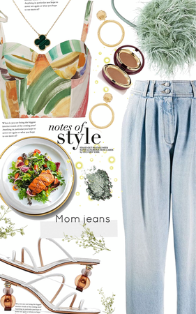 mom jeans style