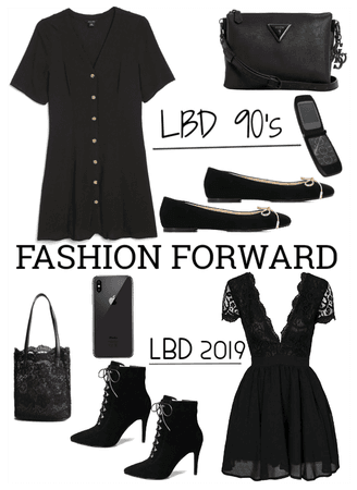 Little Black Dress LBD Fashion Forward