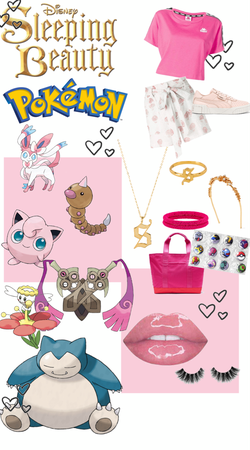 Disney Pokemon - Sleeping Beauty Pokemon Trainer