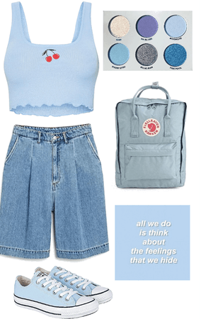 casual blue vibes 💙