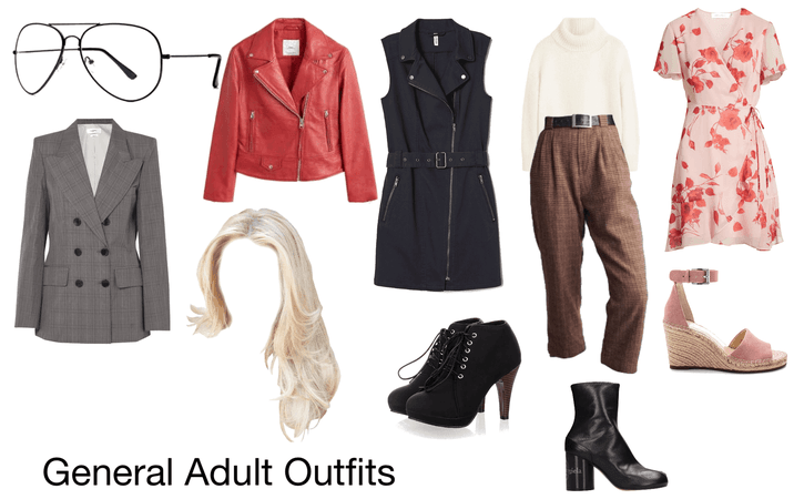 General Adult Outfits -