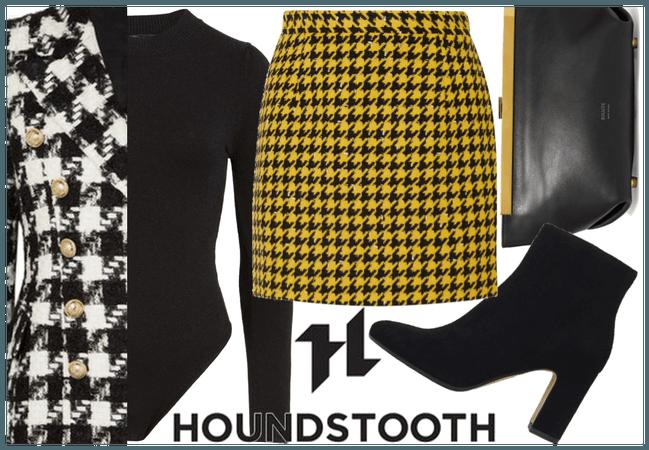 Stylish Houndstooth