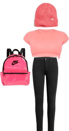 pink,black/neon