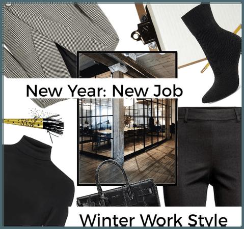 New Year-New Job: Winter Work Style