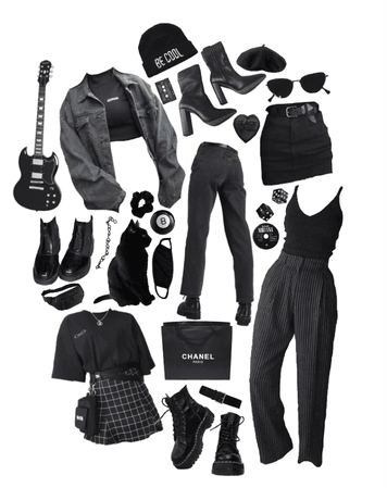 black to black